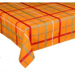 Ubrusy bavlněné Kostka oranžová