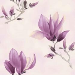 Dekorační látka Magnolie fialová