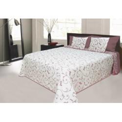 Přehoz na postel Orleans bordó