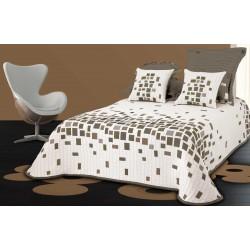 Přehoz na postel Derby hnědé