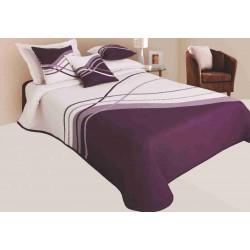 Přehoz na postel Lake fialový