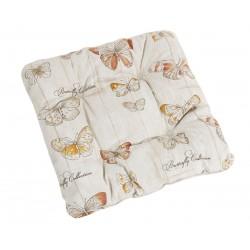 Sedáky na židle EMA motýlci prošívaný