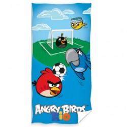 Plážová osuška Angry birds fotbal 70 x140cm