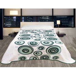 Přehoz na postel Congo zelené