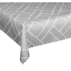 Ubrus teflonový Boni šedý
