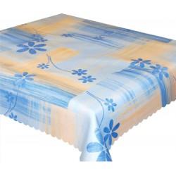 Ubrus teflonový Modré květiny cena od