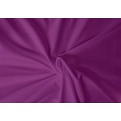 Saténové prostěradlo LUXURY COLLECTION 220x200cm tmavě fialové