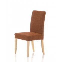 Potah  Petra oranžový na židli komplet
