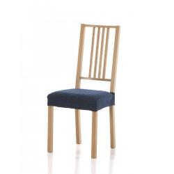 Potah Petra modrý na židli sedák