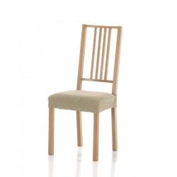 Potah Petra béžový na židli sedák