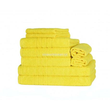 Ručník nebo osuška FINE žlutý cena od