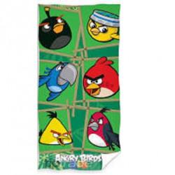 Plážová osuška Angry birds  70x140cm