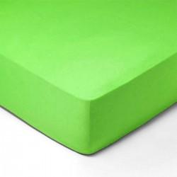 Forbyt, Prostěradlo, Jersey, zelená 150 x 200 cm