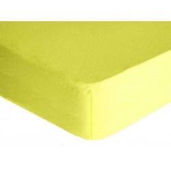 Prostěradlo, Froté Premium, světle žluté 60 x 120 cm