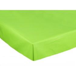 Bavlněné prostěradlo, Zelené, 240 x 150 cm