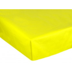 Bavlněné prostěradlo, Žluté, 240 x 150 cm