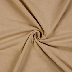 Jersey prostěradlo jednolůžko 90x200cm světle béžové