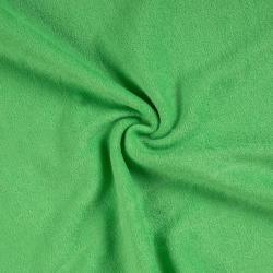 Froté prostěradlo dvojlůžko 180x200cm zelené
