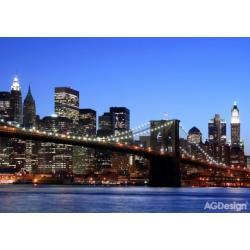 Fototapeta Brooklynský most 360 x 254 cm AG Design FTS 0107