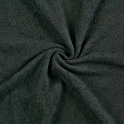 Froté prostěradlo 100x200cm černé