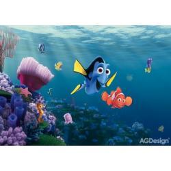 Fototapeta Disney Nemo 360 x 254 cm AG Design FTD 2223