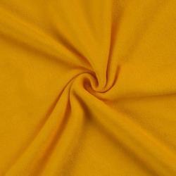 Froté prostěradlo 120x200cm sytě žluté
