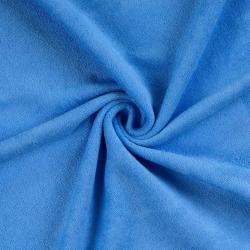Froté prostěradlo 200x200cm modré
