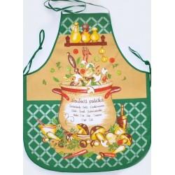 Forbyt  Zástěra a chňapka, Hřibová polévka, zelená