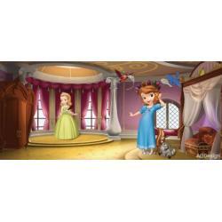 Fototapeta vliesová Disney Sofie v zámku 202 x 90 cm AG Design FTDN H 5348