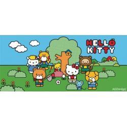 Fototapeta vliesová Hello Kitty a kamarádi 202 x 90 cm AG Design FTN H 2735