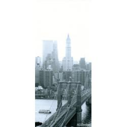 Fototapeta vliesová Brooklyn New York 90 x 202 cm AG Design FTN V 2816