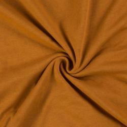 Jersey prostěradlo jednolůžko 120x200cm cihlové