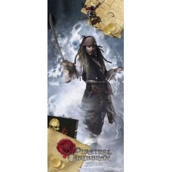Fototapeta vliesová Jack Sparrow 90 x 202 cm AG Design FTDN V 5418