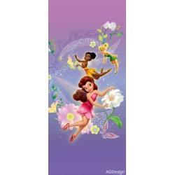 Fototapeta vliesová Disney víly 90 x 202 cm AG Design FTDN V 5415