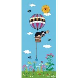Fototapeta vliesová Krtek a balon 90 x 202 cm AG Design FTN V 2918
