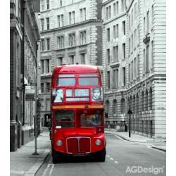 Fototapeta vliesová Londýnský autobus 180 x 202 cm AG Design FTN XL 2500