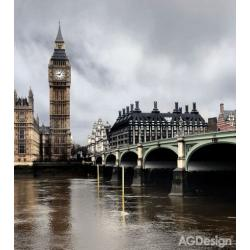 Fototapeta vliesová Londýn Big Ben 180 x 202 cm AG Design FTN XL 2512
