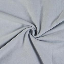 Jersey prostěradlo jednolůžko 90x200cm světle šedé