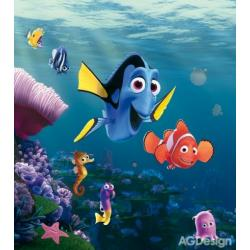 Fototapeta vliesová Disney Nemo 180 x 202 cm AG Design FTDN XL 5132