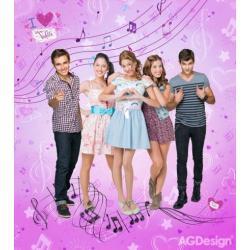 Fototapeta vliesová Disney Violetta 180 x 202 cm AG Design FTDN XL 5141