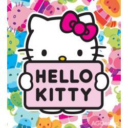 Fototapeta vliesová Hello Kitty 180 x 202 cm AG Design FTN XL 2541