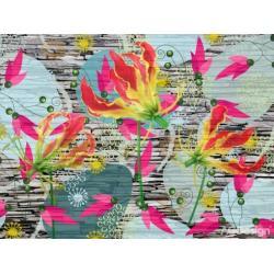 Fototapeta vliesová flora futura 330 x 255 cm AG Design FTN XXL 0321