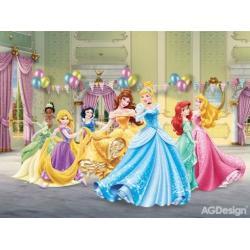 Fototapeta vliesová Disney princezny slaví 330 x 255 cm AG Design FTDN5033