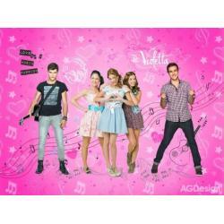 Fototapeta vliesová Disney Violetta 330 x 255 cm AG Design FTDN5039