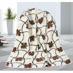 Vlněná deka 155x200cm javor - evropské merino