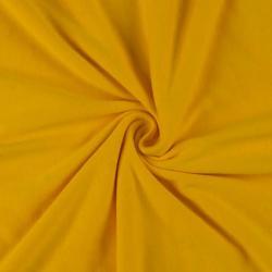 Jersey prostěradlo dvojlůžko 220x200cm sytě žluté