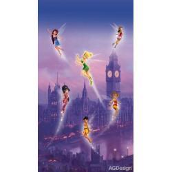 Fotozáclony Disney víly v Londýně 140 x 245 cm AG Design FCS L 7102