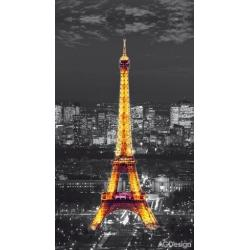 Fotozáclony Paříž v noci 140 x 245 cm