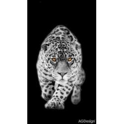 Fotozáclony leopard 140 x 245 cm AG Design FCS L 7503