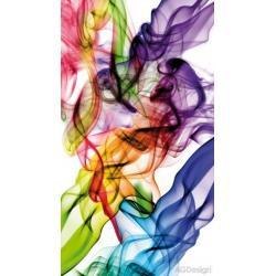 Fotozáclony barevný kouř 140 x 245 cm AG Design FCS L 7514